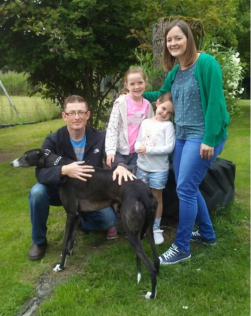 Nobby changed his name to Flynn when he left us for his new home with the Ryan family