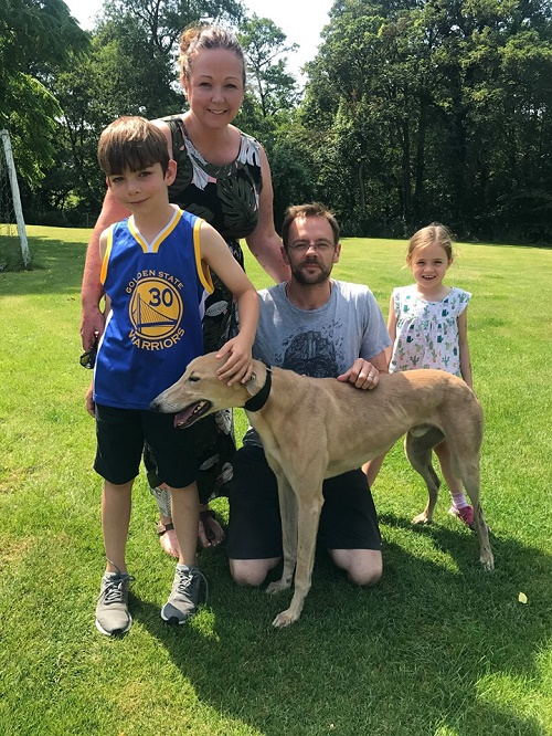 Simba kept his name as he headed off for his new life with the Purshouse family