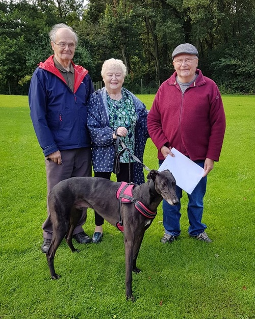 Long stayer Adam changed his name to Shadow as he found his loving home with the Coley family