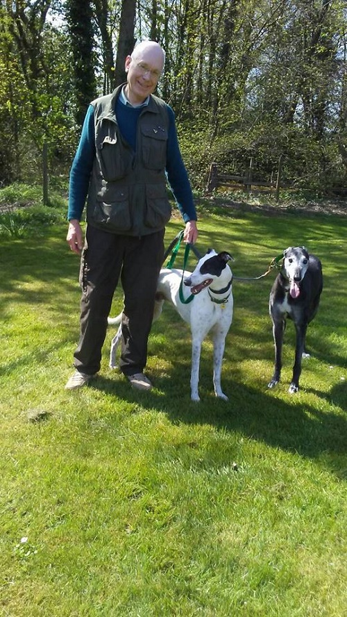 Buster changed his name to Merlin as he left to be a friend for Fly and joined the Thompson family for his new home