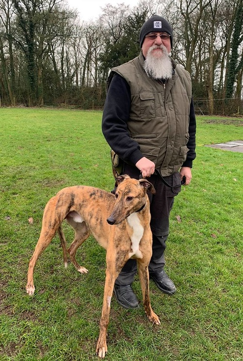 Our gorgeous lad Cheeto changed his name to Stan as he left us for his new life with Colin
