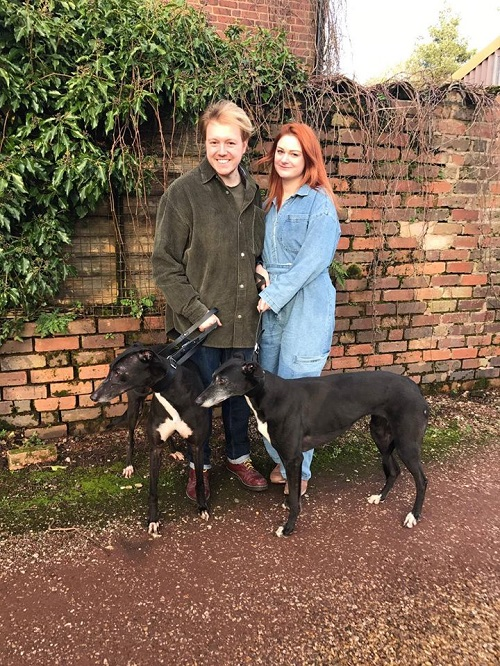 Punky changed his name to Elvis and Crystal changed her name to Peggy and this lovely pair left for their forever home together with the Jones family