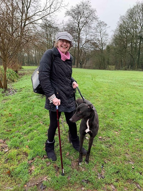 It's was Woodys lucky day as Jo came to the kennels to look for a new friend. She instantly fell in love and he was soon on his way to his forever home